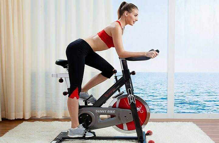 is spinning bad for your knees