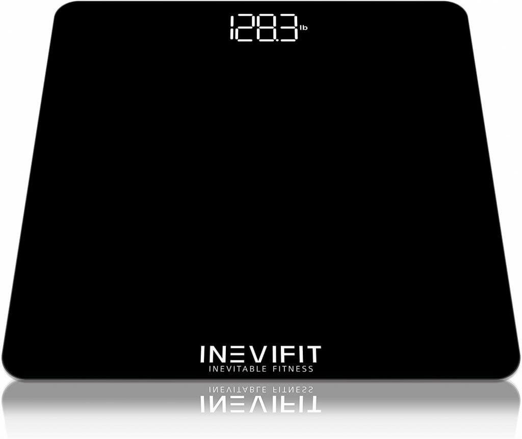 INEVIFIT Bathroom Scale, Digital Bathroom Body Scale