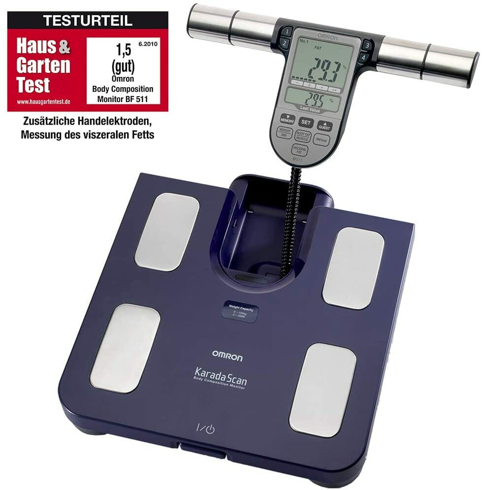 Omron BF511 body weight scale review