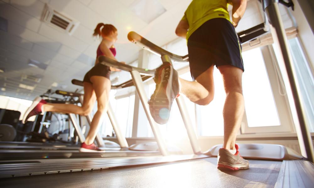 Treadmill sprints