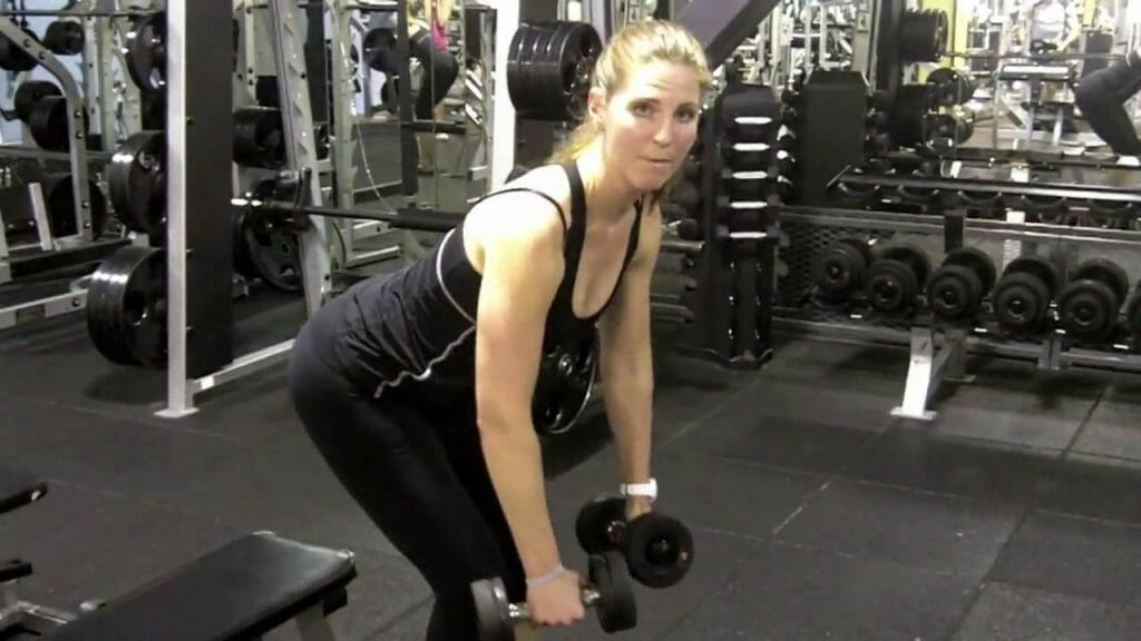 Bent-over row - Dumbbell