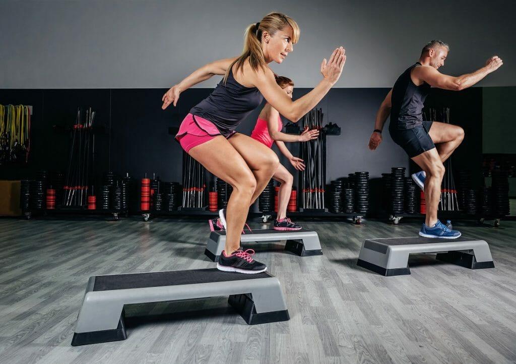 Step aerobics - Aerobic exercise