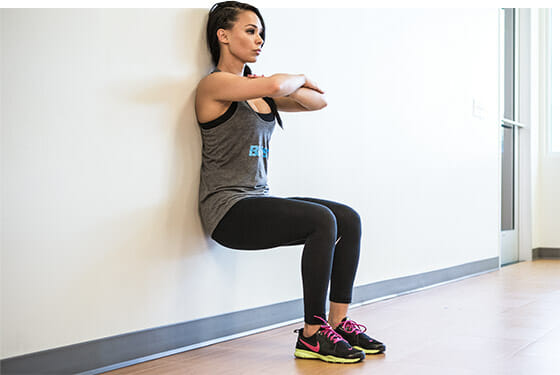Wall sit - Exercise