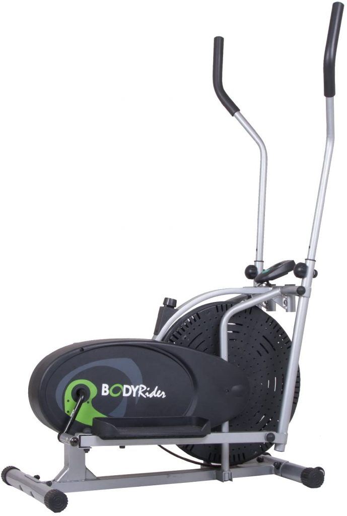 Body Rider Fan Elliptical Trainer with Air Resistance System,