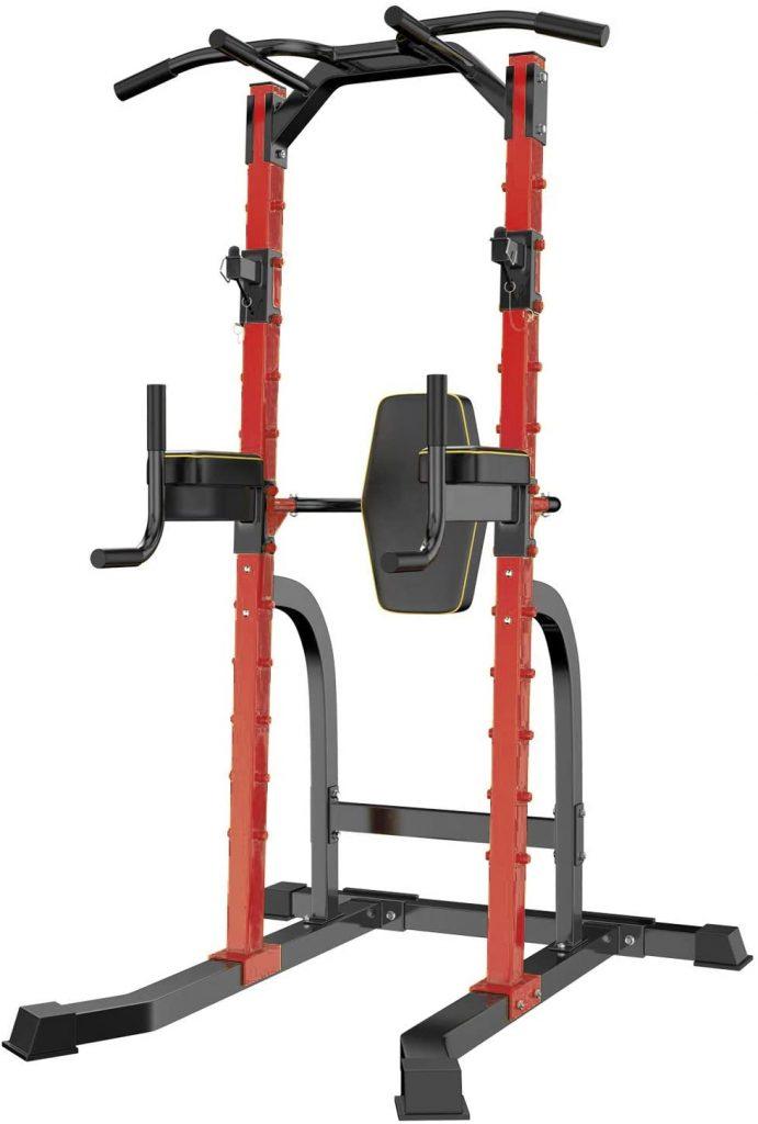 HI-MAT Adjustable Power Tower Squat Rack
