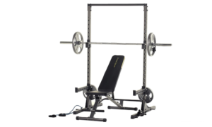 Fitness Reality Multi-function, Adjustable Power Rack Squat Stand