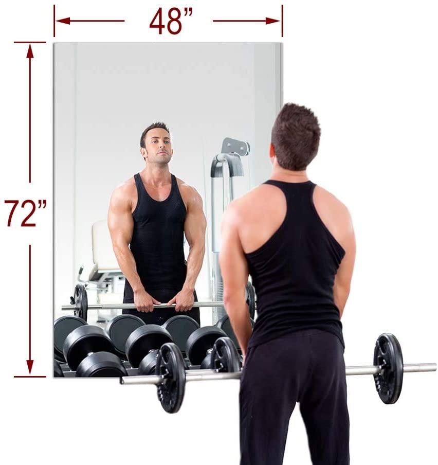 TroySys MiraSafe Gym Mirror Kit