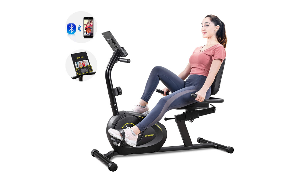 Merax Recumbent Workout Bike