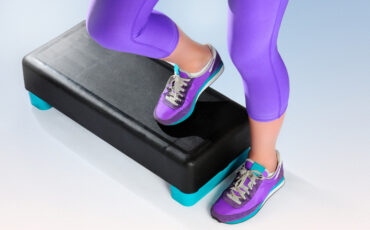DIY aerobic stepper