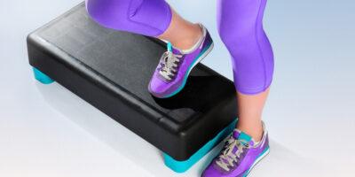 DIY aerobic stepper
