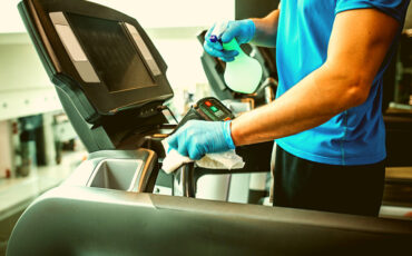 how to clean a treadmill belt