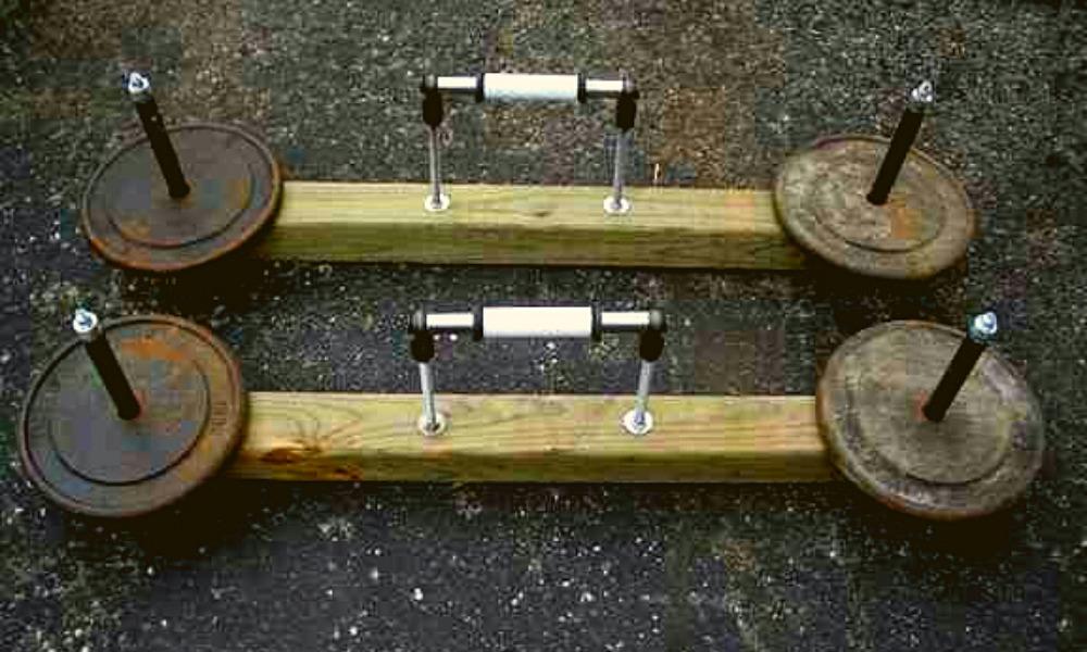 DIY Kettlebells
