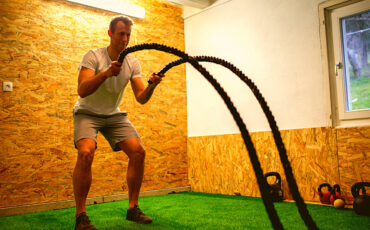 DIY BATTLE ROPES