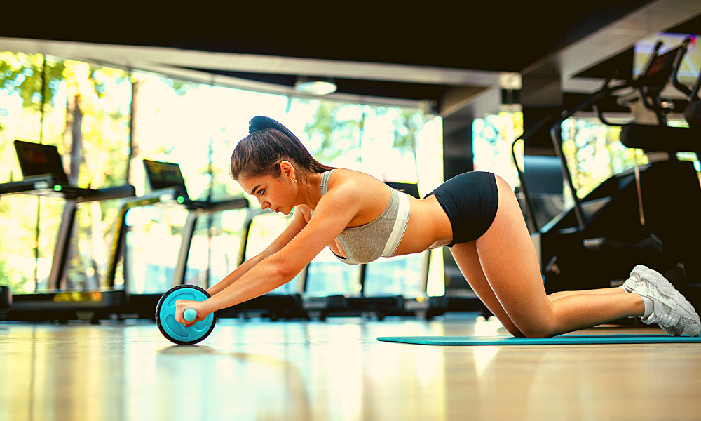 BEST AB WHEELS WITH FOOT STRAPS