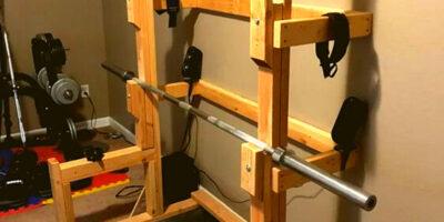 DIY Barbell Rack